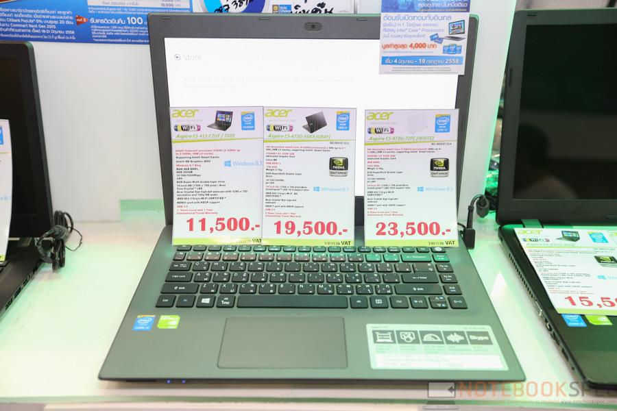 Acer Notebook Commart Next Gen 2015-13