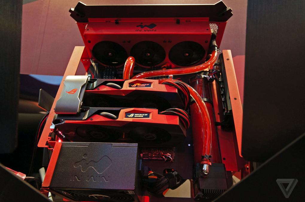 Asus PC gamer case 600 15