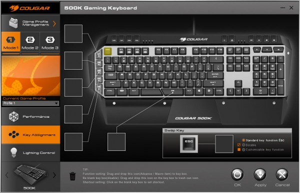Cougar 500K Gaming Keyboard (17)