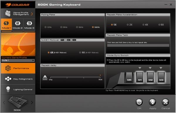 Cougar 500K Gaming Keyboard (18)