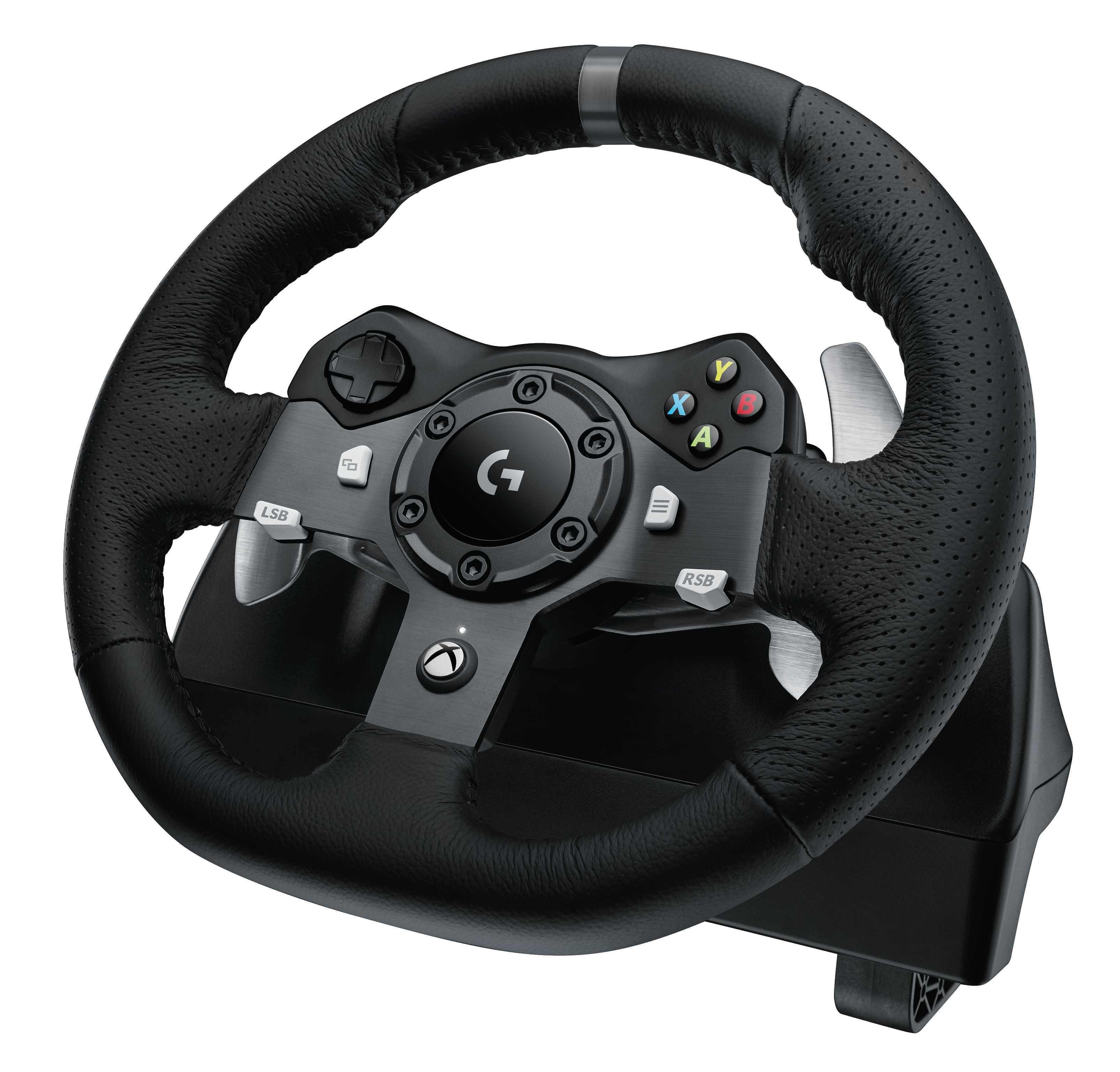 Logitech force feedback racing wheel 600 01