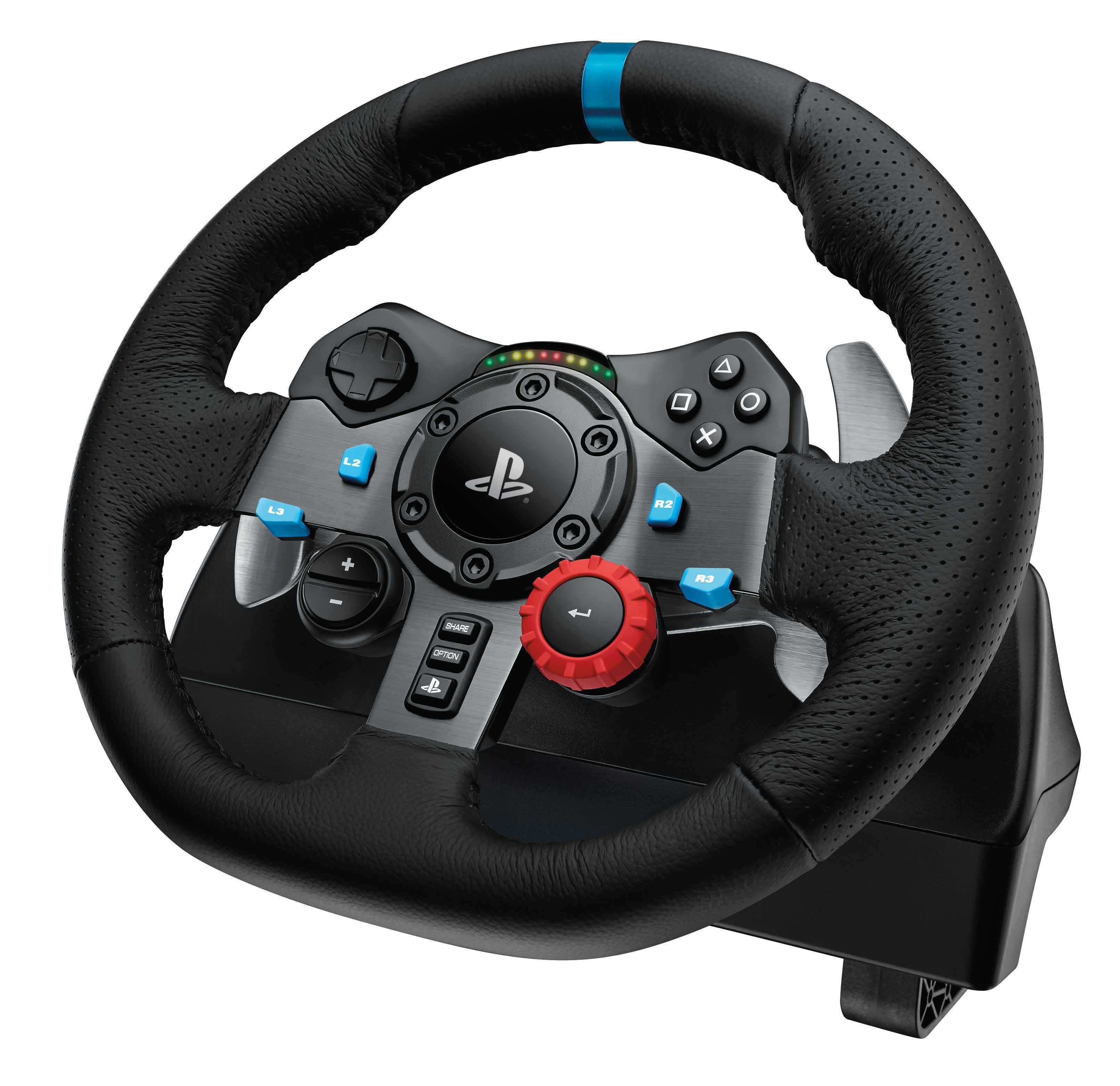 Logitech force feedback racing wheel 600 02
