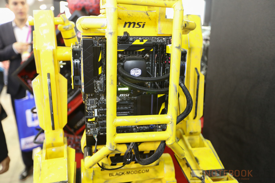 MSI Computex 2015 Part 2 PC-12