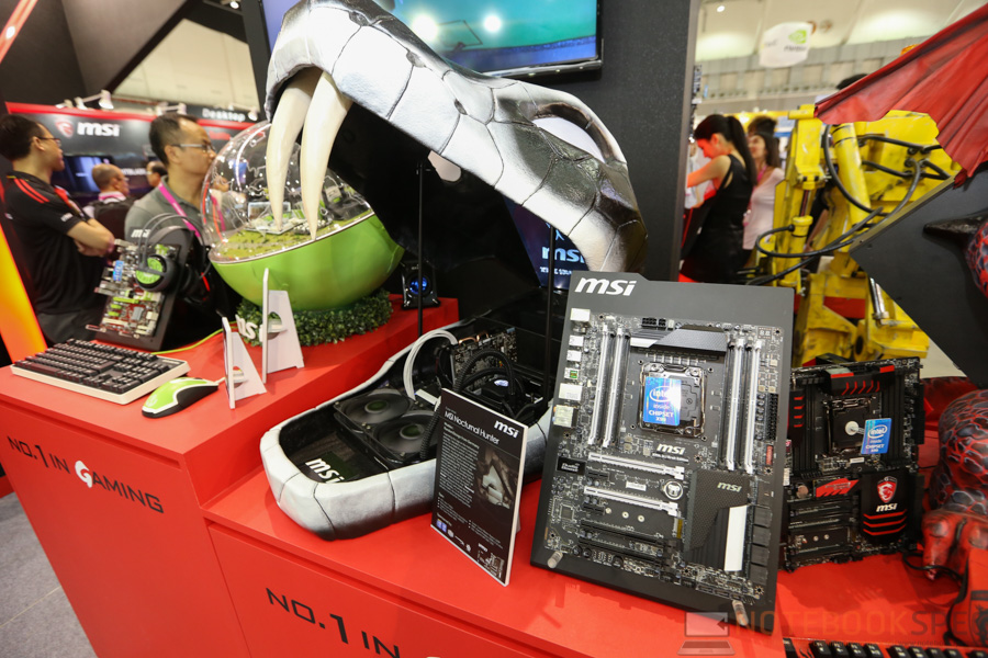 MSI Computex 2015 Part 2 PC-18