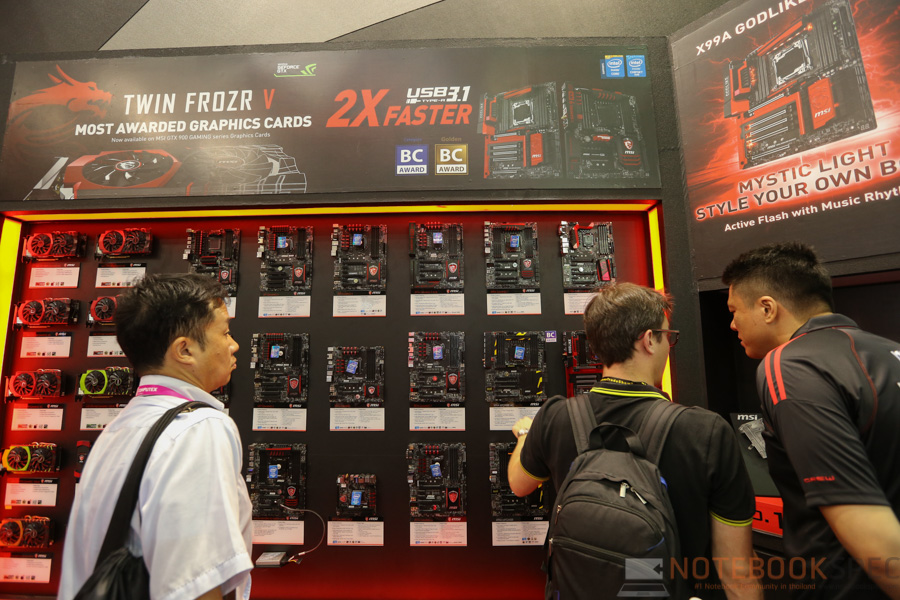 MSI Computex 2015 Part 2 PC-21