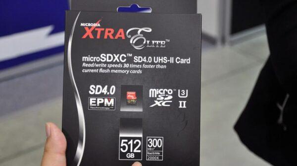 Microdia microSD 512GB 600