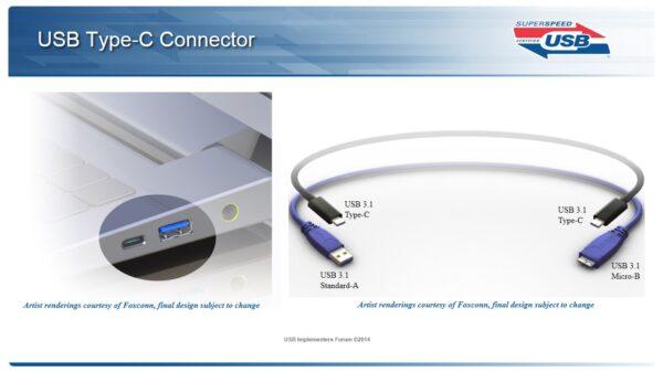 USB Type c connector 600