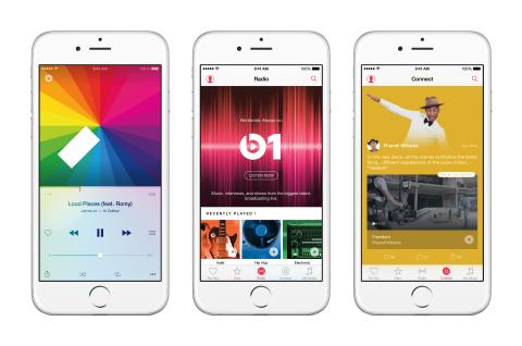 iPhone6 3Up AppleMusic Features PR PRINT 600 01