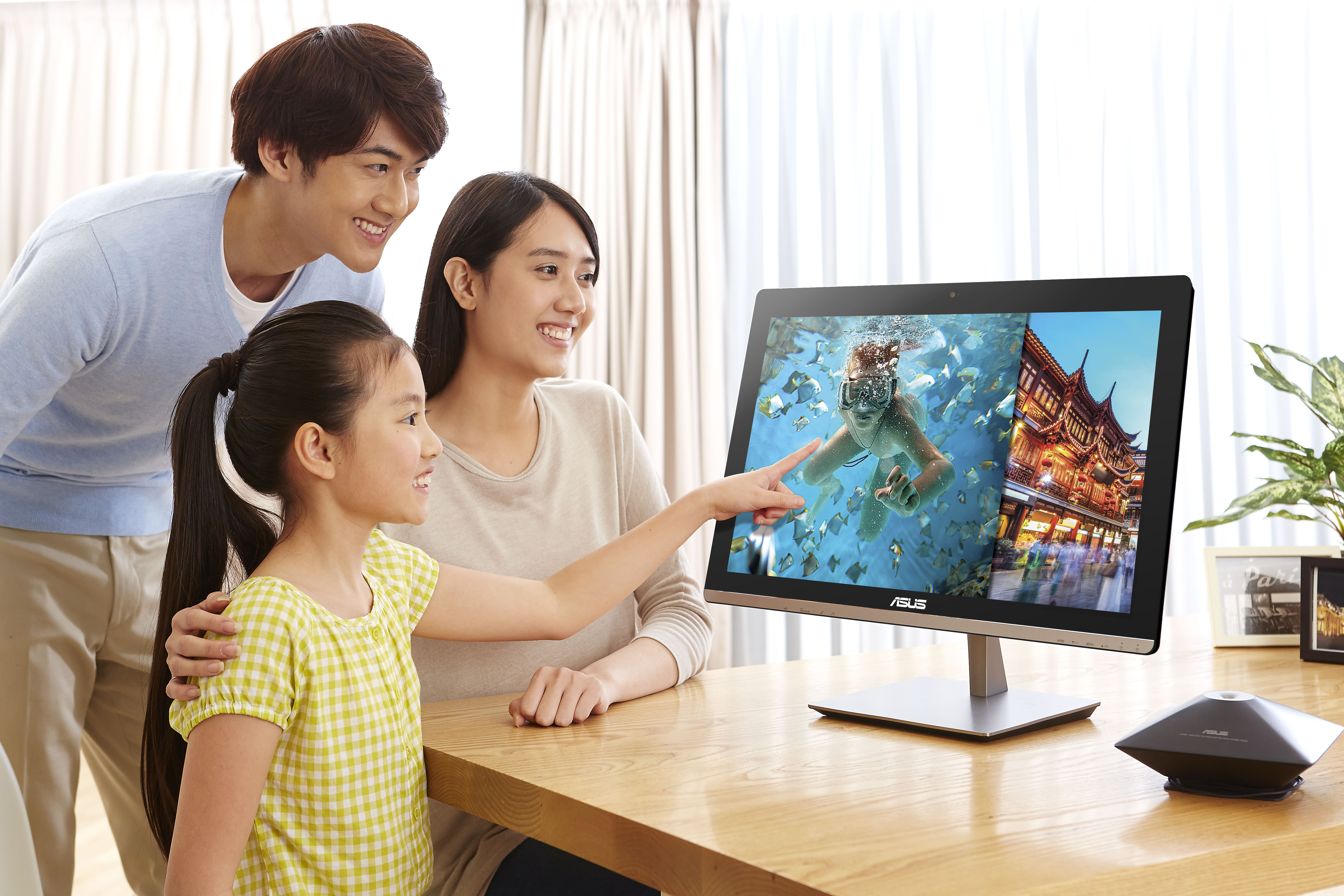 ASUS ET2321-Vibrant and vivid image with IPS and 10-point touch display