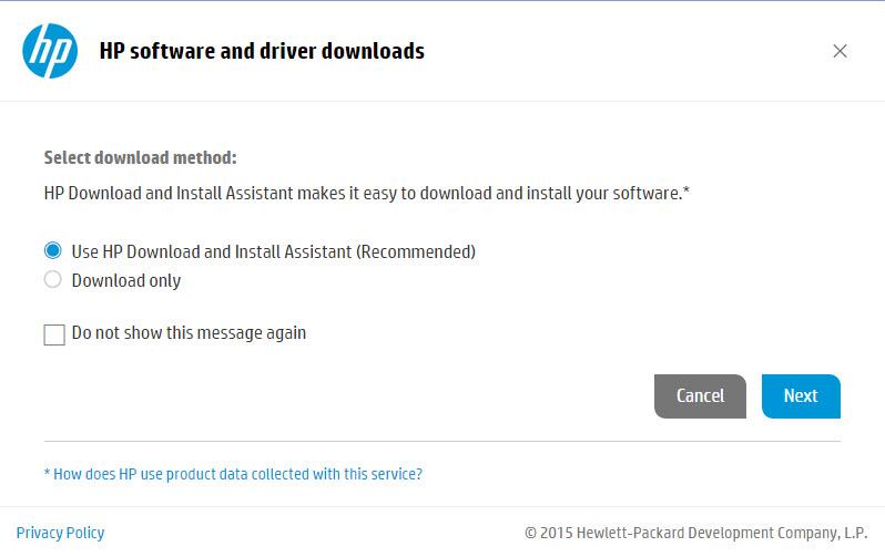 HP Driver Download-7