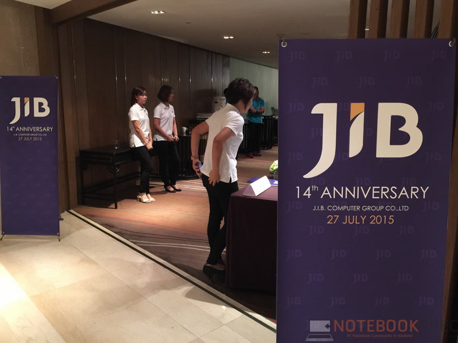 90920356d0f เมื่อวันที่ 27 กรกฎาคมที่ผ่าน ทางทีมงาน NotebookSPEC ได้รับเกียรติจากทาง JIB  Computer Group ร่วมงานแถลงข่าว JIB อายุครบ 14 ปี และก้าวเข้าสู่ปีที่ 15 ...