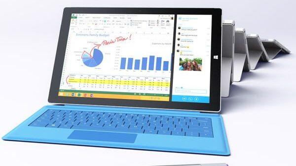 Surface Pro 3 600