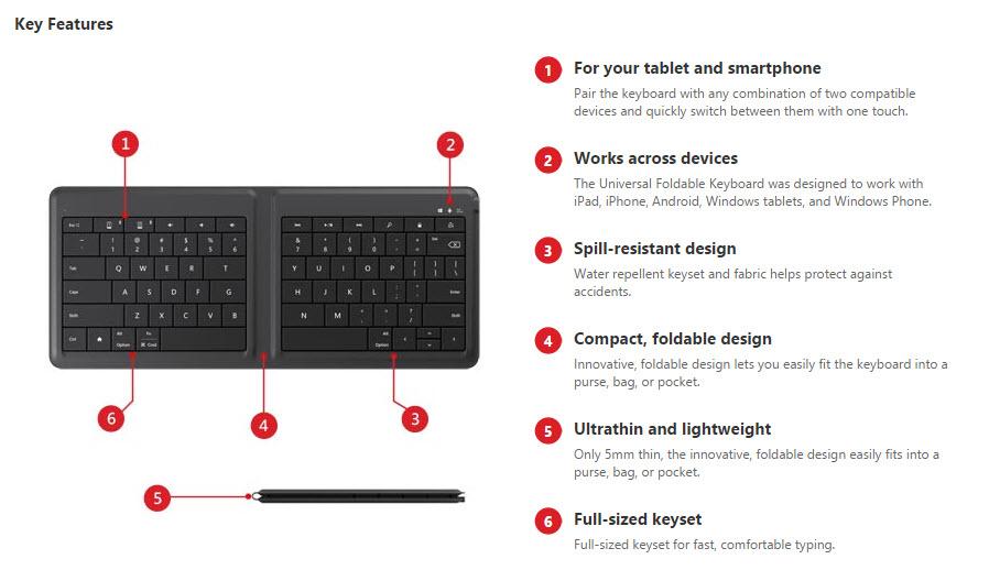 UFK-key feature