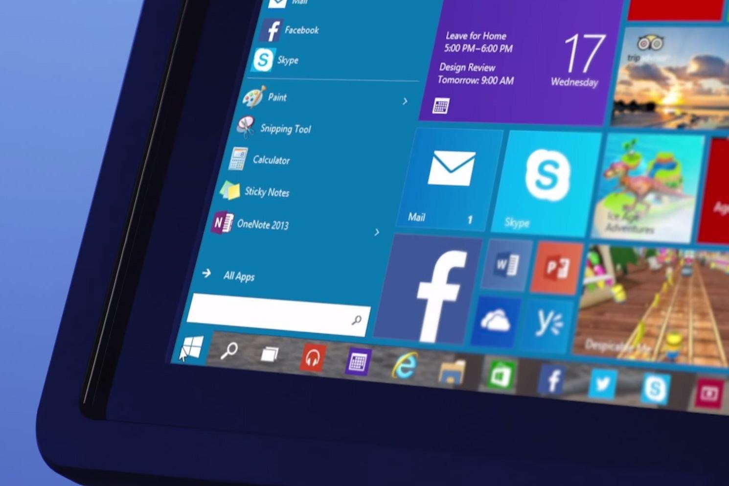 Windows 10 600