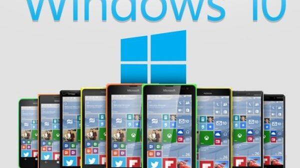 Windows 10 mobile 600