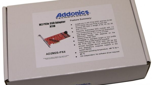 addonics x110 m2 adapter 5