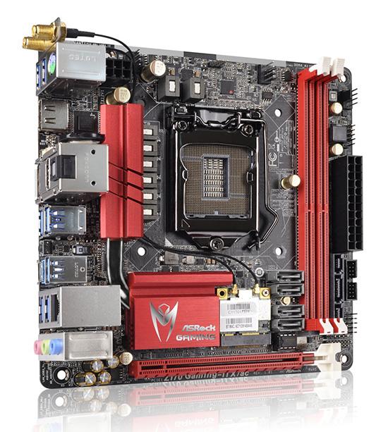 ASRock Z170 Gaming ITXac