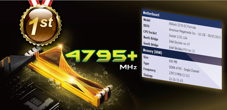 ASRock Z170 OC Formula-1