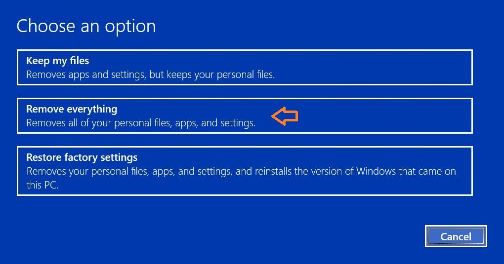 How to do a clean install of Windows 10 600 04