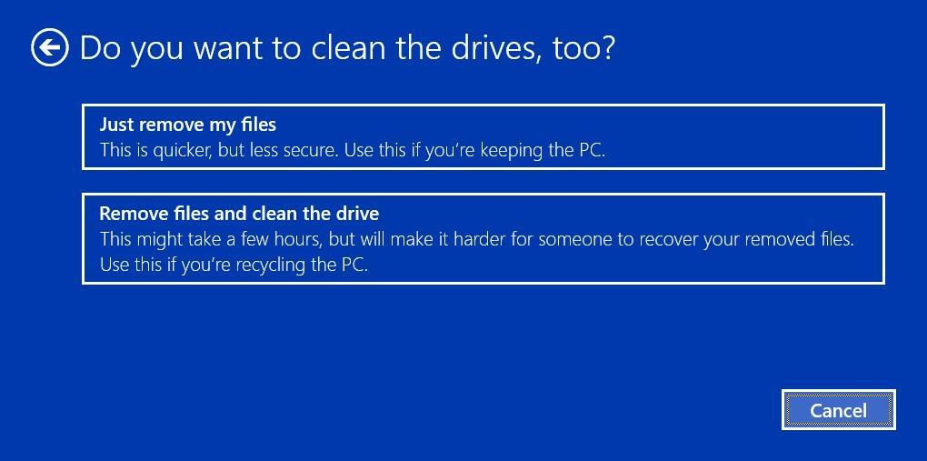How to do a clean install of Windows 10 600 05