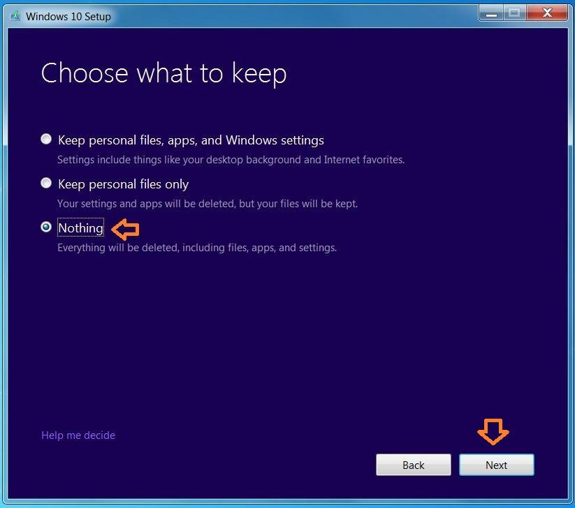 How to do a clean install of Windows 10 600 12