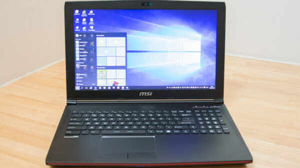 MSI GP62 Gaming Notebook Review 5