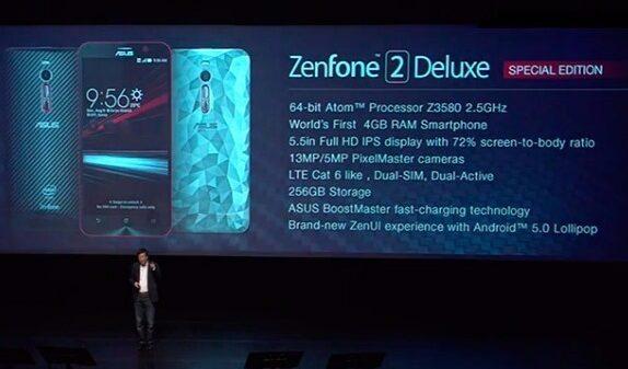 asus zenfone 2 delux special edition
