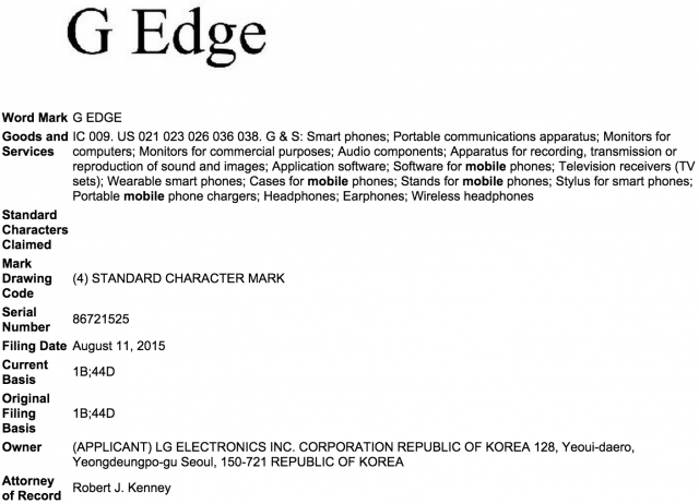 lg g edge trademarks 600