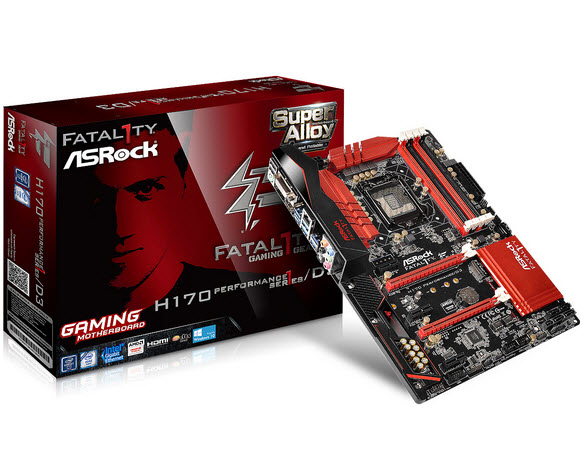 ASRock Fatal1ty H170 Performance D3-1