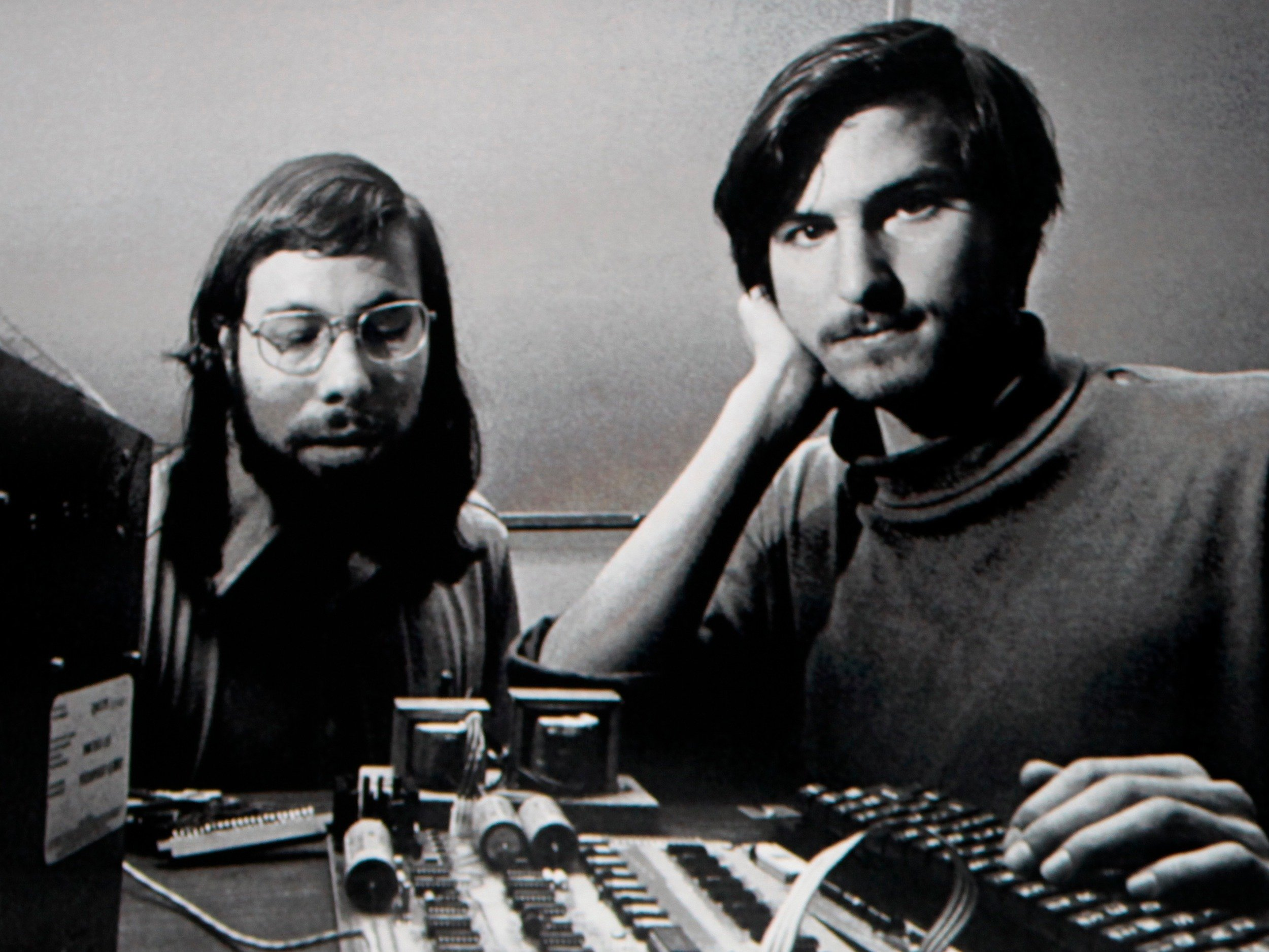 Jobs and Woz 600