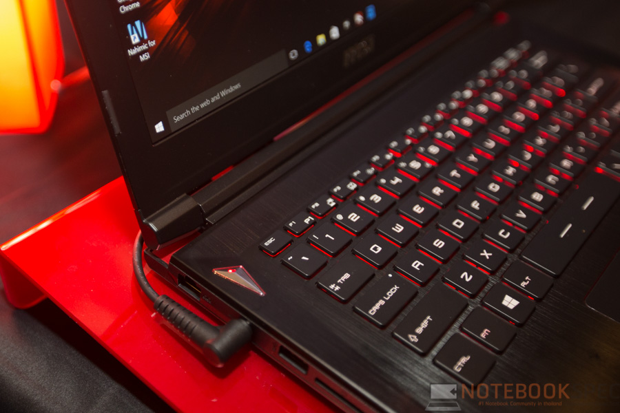 MSI Launch Notebook Intel Skylake-13