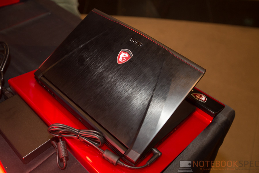 MSI Launch Notebook Intel Skylake-15