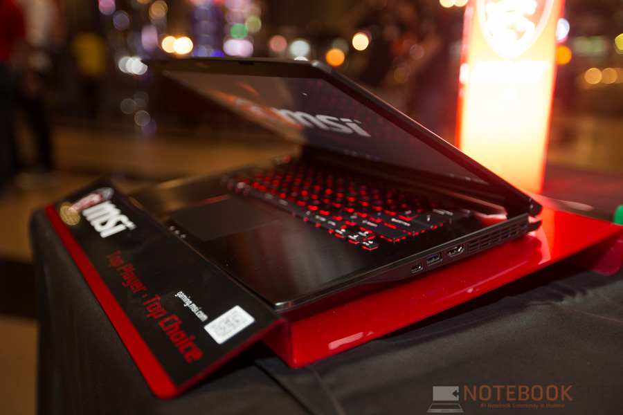 MSI Launch Notebook Intel Skylake-17