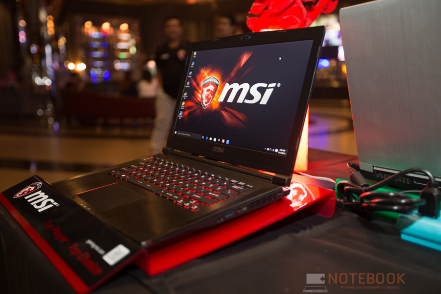 MSI Launch Notebook Intel Skylake-18
