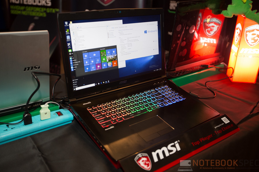 MSI Launch Notebook Intel Skylake-22