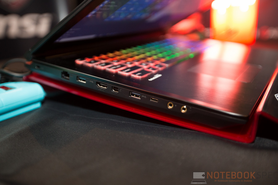 MSI Launch Notebook Intel Skylake-32
