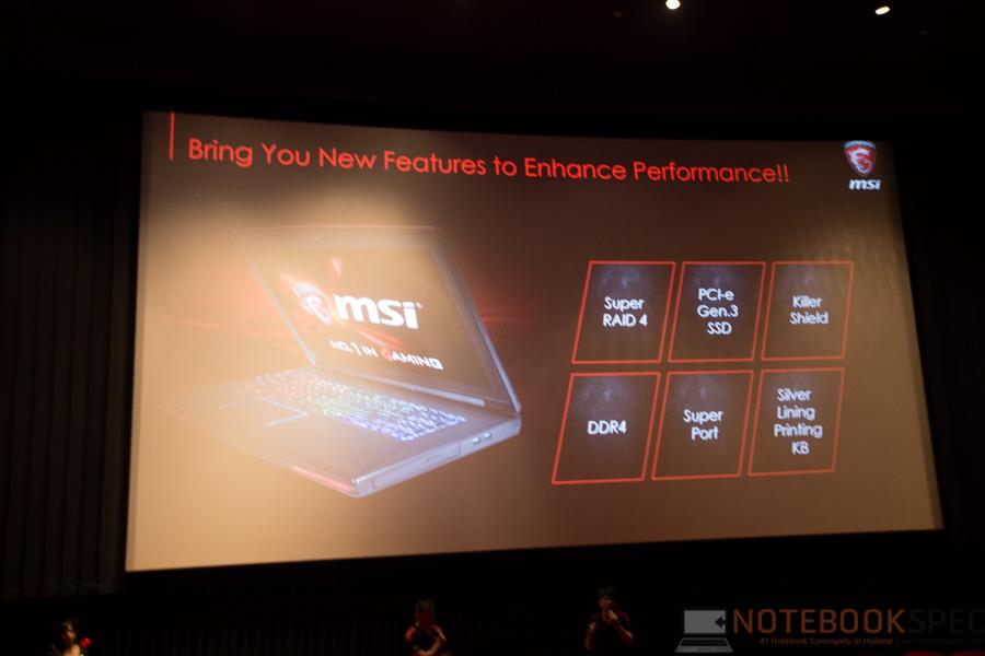 MSI Launch Notebook Intel Skylake-42