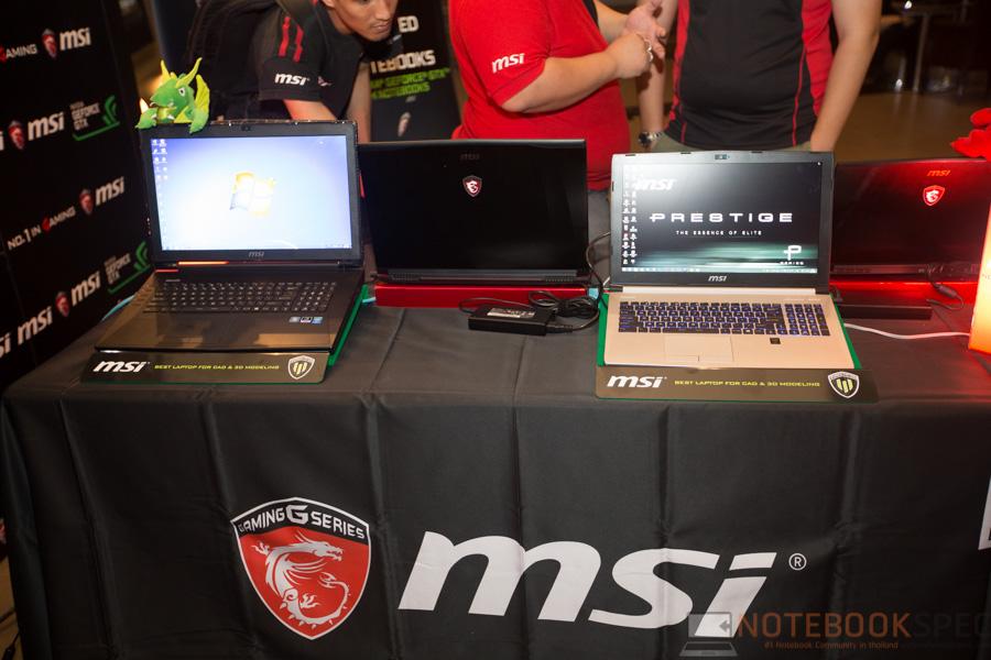 MSI Launch Notebook Intel Skylake-5