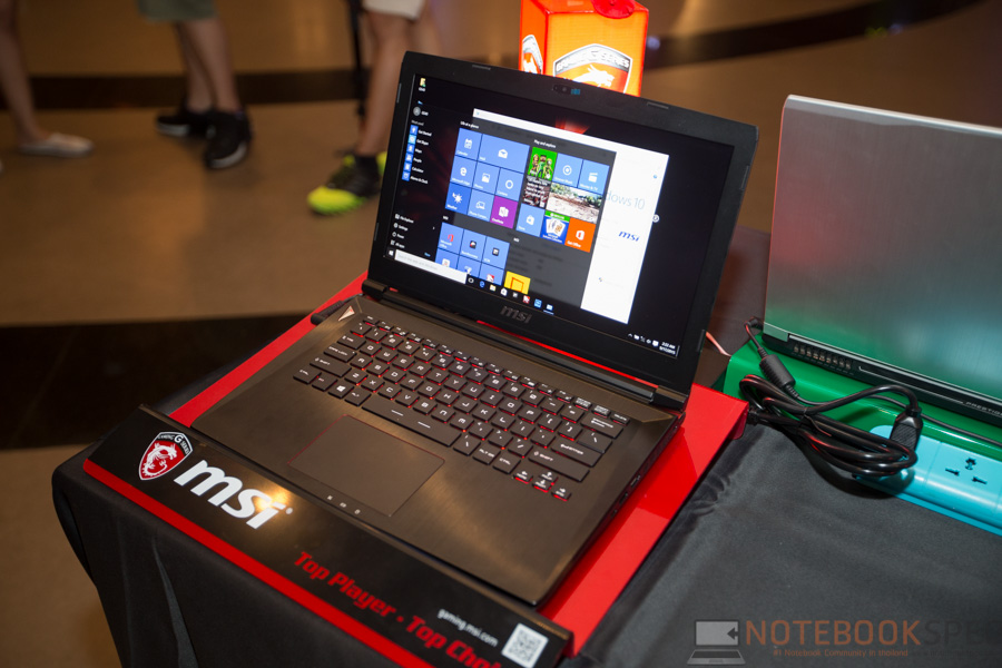 MSI Launch Notebook Intel Skylake-8