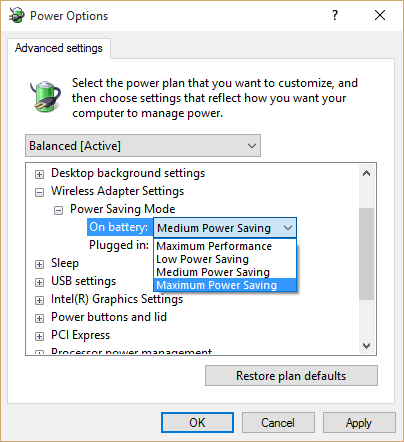 Power plan windows 10 (3)