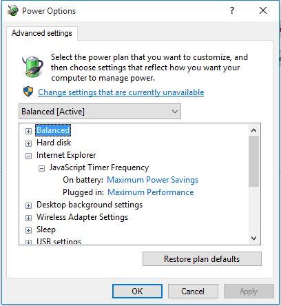 Power saving Internet Explorer-1