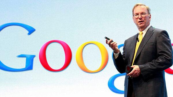 google Eric Schmidt 600