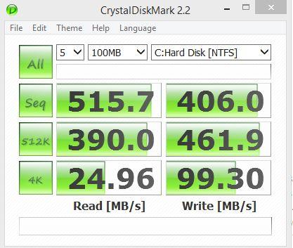 Crytaldisk 100mb