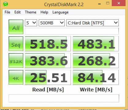 Crytaldisk 500mb