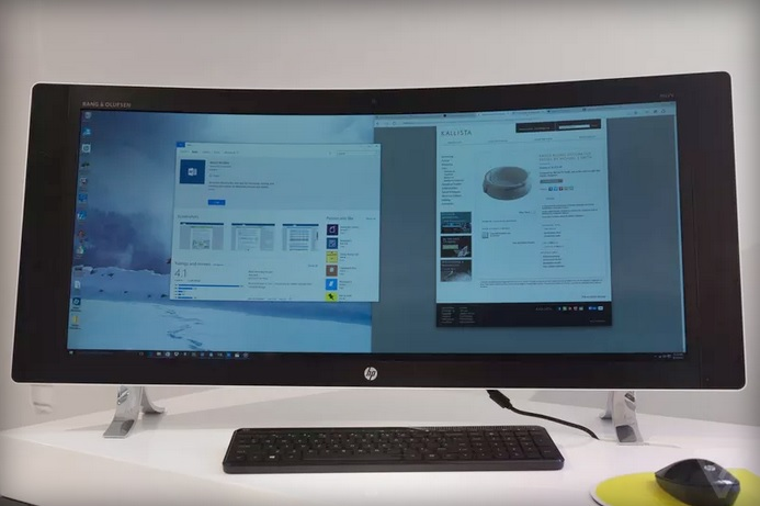 HP Envy Curved All-in-One PC 600 01