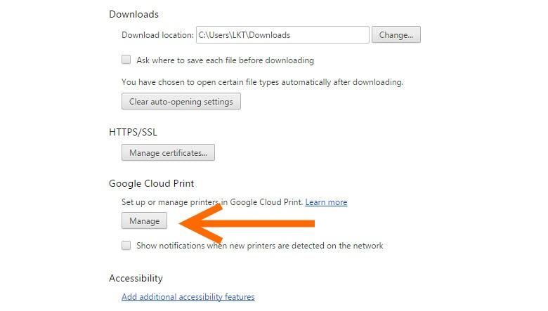 HP-Google Cloud Print Setting (1)