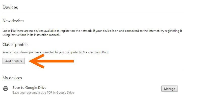 HP-Google Cloud Print Setting (2)