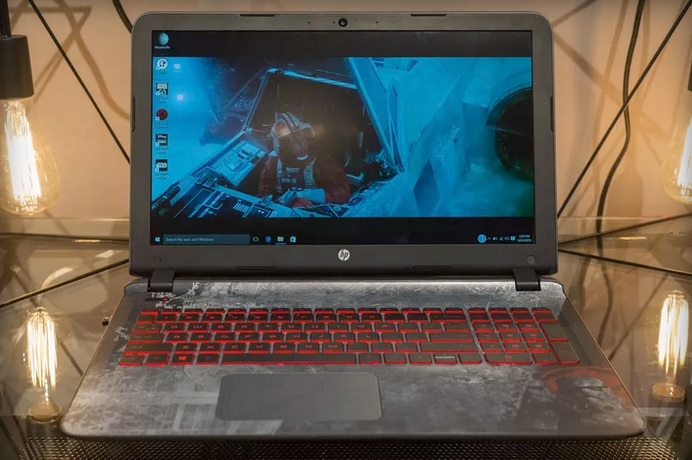 HP Star Wars laptop with R2-D2 sounds 600 01