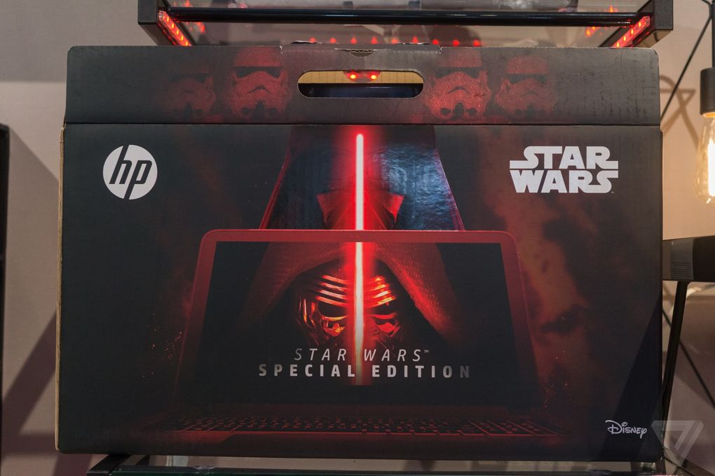 HP Star Wars laptop with R2-D2 sounds 600 10