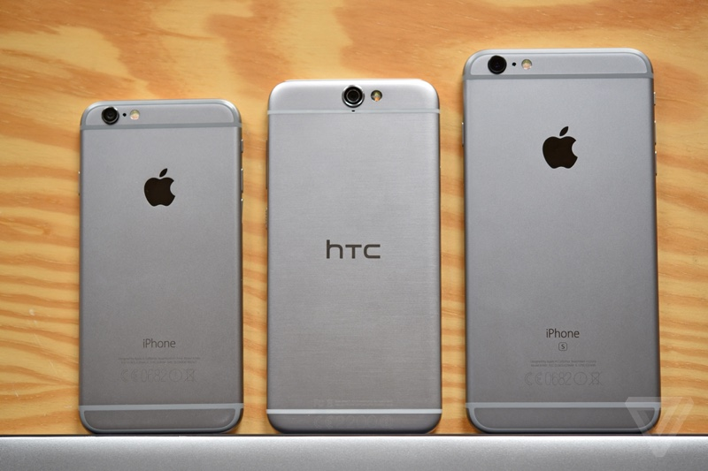 HTC One A9 Compare to iPhone 6 600 01